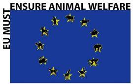 European Union Flag for Animal Welfare