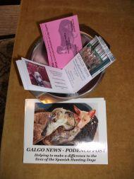 Galgo News Podenco Post cards 190