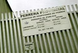 Olvenza perrera sign 250