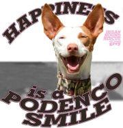 Podenco Smile 180 Oh Happy Grey