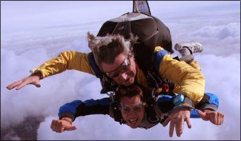 Parachute jump 350