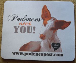 Podenco mousepad 300