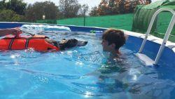 Charl Kiara swimming 250 5 9 2014