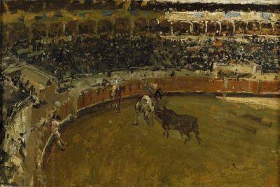 Bullfighting painting 400