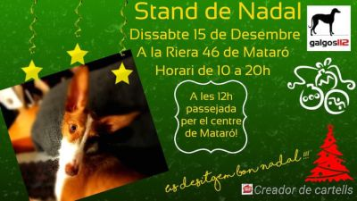 Galgos112 christmas stands 400 12 2018