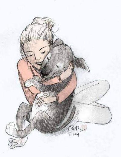 Hug a Dog 400 7 2019