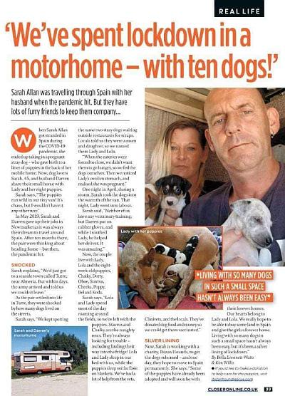 Ibizan Hound Rescue motor home 400 30 3 2021