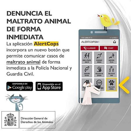 Animal cruelty denuncia App 450