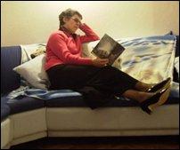 Relax in quiet room