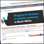 Blogging workshop